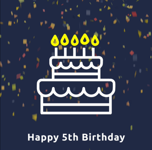 birthday cake escone